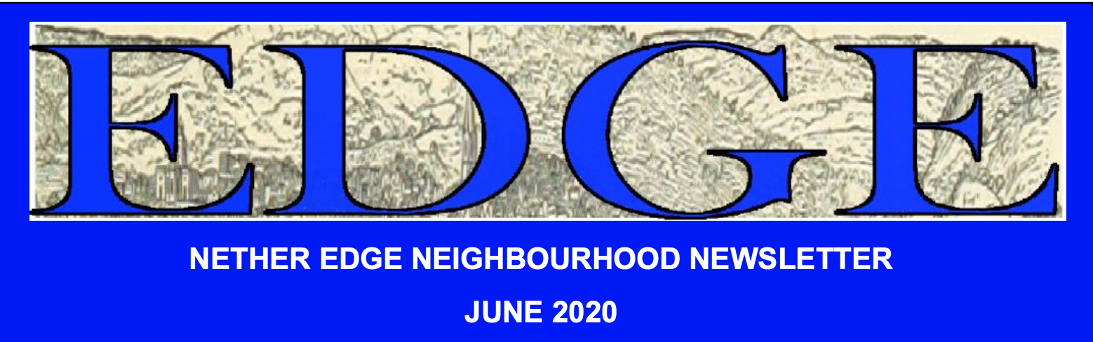 masthead for Edge magazine June 2020